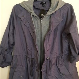 Cute hoodie anorondack style jacket